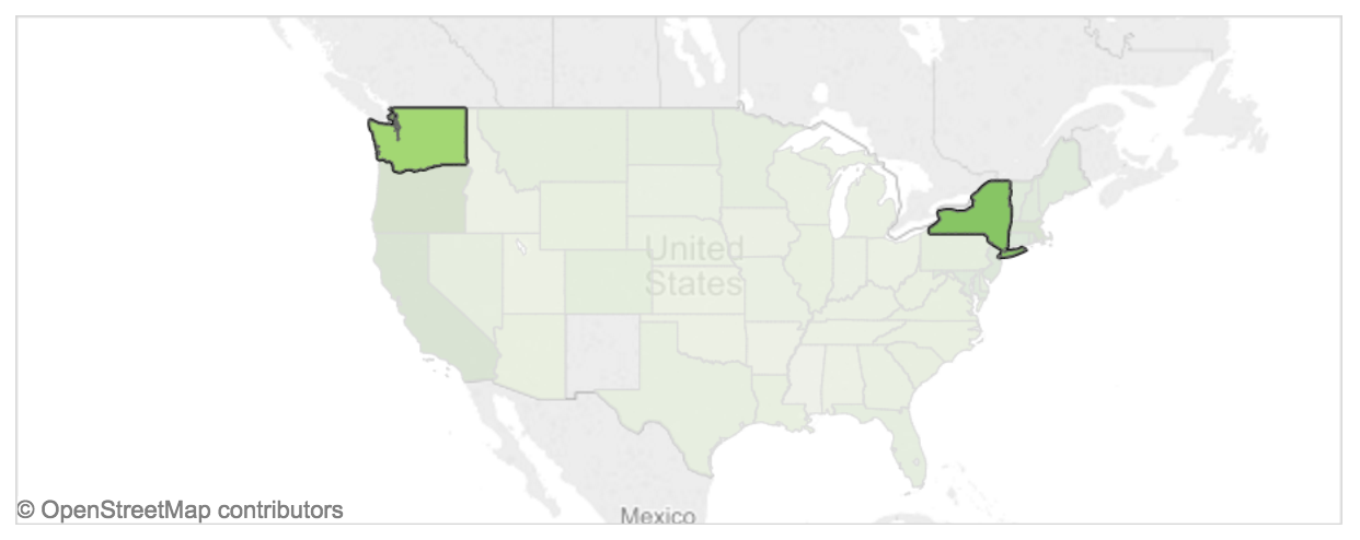 Making Cost Of Living Data Accessible For International Students - Us cost of living map