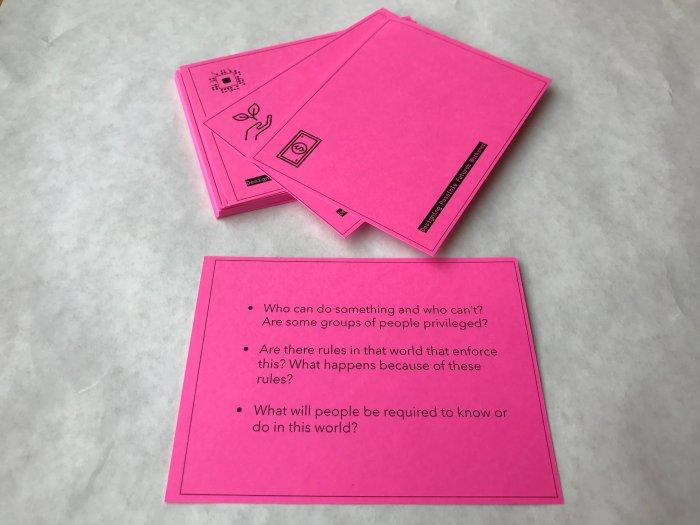 FutureShift card deck