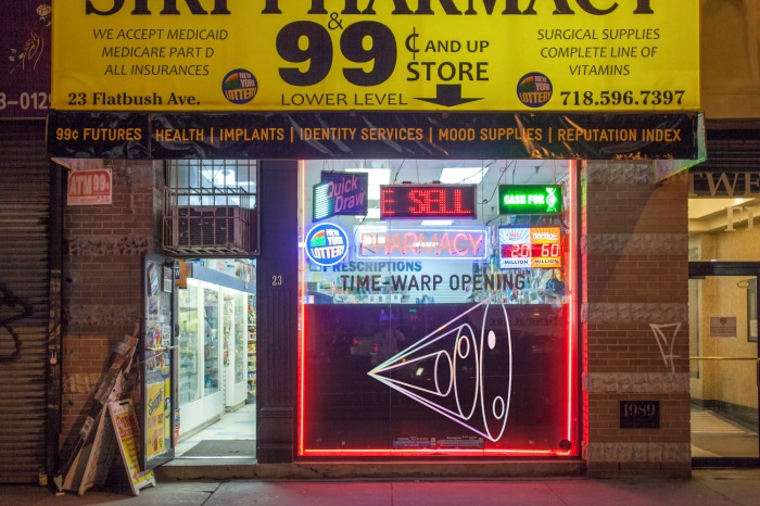 The Extrapolation Factory sold participant-made objects in a real convenience store in New York City after the speculative design workshop.