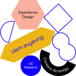 Clem Auyeung | Content Strategy, Experience Design & UX Research